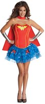 Rubie's Costume Co Costume DC Comics Secret Wishes Wonder Woman Corset And Tutu Costume