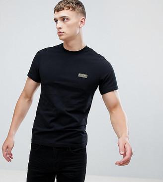 Barbour International slim fit logo t-shirt black Exclusive at ASOS