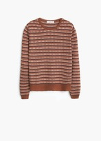 Mango Outlet Metal Thread Sweater