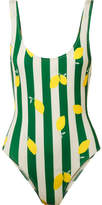 Solid & Striped The Anne-marie Printed Swimsuit - Emerald
