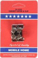 United Abrasives United States Hdw #D121C 2PK Cab/Door Clip [Misc.] [Misc.]