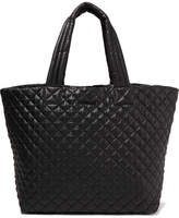 MZ Wallace Metro Large Quilted Shell Tote - Black