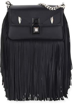Fendi Baguette Monster Micro Fringe Shoulder Bag