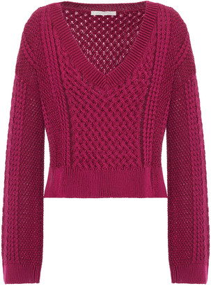 Jonathan Simkhai Cable-knit Cotton Sweater