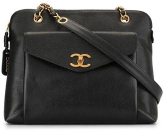 Chanel Pre Owned 1995 CC turn-lock shoulder bag