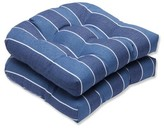 Baggett Indoor/Outdoor Dining Chair Cushion Longshore Tides Fabric: Indigo