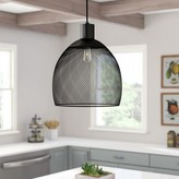 Laurèl Bouvet 1-Light Single Dome Pendant Foundry Modern Farmhouse