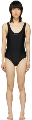 Carhartt Work In Progress Black Script Swimsuit