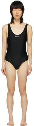 Carhartt Work In Progress Black Script Swimsuit