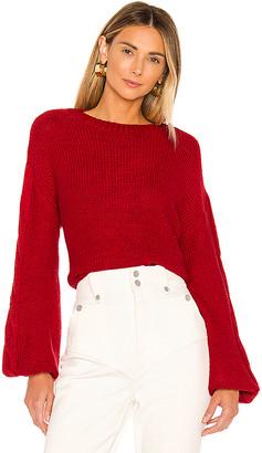 superdown Parker Oversized Sweater
