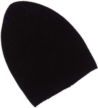 White + Warren White And Warren Cashmere Ribbed Hat