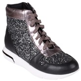 Wanted Award Metallic High-Top Sneaker