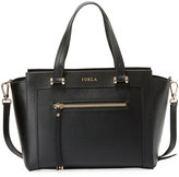 Furla Ginevra Medium Leather Satchel Bag