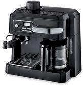 De'Longhi BCO320T Combination Steam Espresso Drip Coffee Cappuccino and Latte Machine in Black