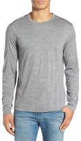 Ibex Men's 'Od' Merino Wool Long Sleeve Crewneck T-Shirt