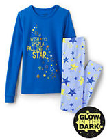 Classic Girls Snug Fit Graphic PJ Set-Let It Snow