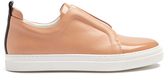 Pierre Hardy Slider low-top leather trainers