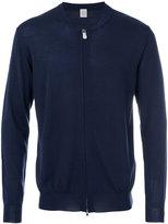 Eleventy zip up cardigan - men - Silk/Merino - S