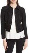 Rebecca Taylor Women's Sparkle Tweed Jacket