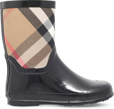 Burberry Ranmoor canvas and rubber boots 5-9 years