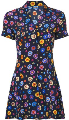 Lhd Floral Print Shirt Dress