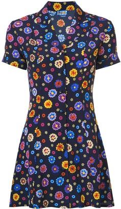Lhd Floral Print Shirt Dress