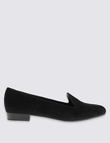 M&S Collection Suede Albert Pump Shoes