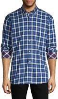 Tailorbyrd Plaid Long-Sleeve Shirt