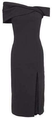 Jay Godfrey Off-the-shoulder Stretch-crepe Midi Dress