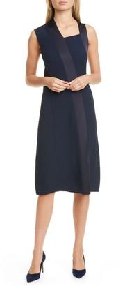 HUGO BOSS Danelava Asymmetrical A-Line Dress