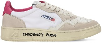 AUTRY Leather & Nylon Low Sneakers