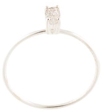 Natalie Marie Tiny Marquise Rutilated Quartz ring