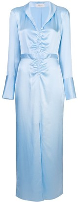 ARIAS Gathered Front Dress