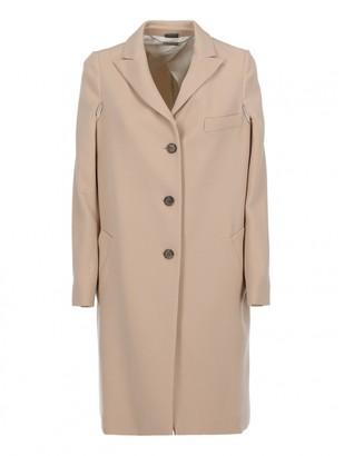 Alexander McQueen Beige Wool Coats
