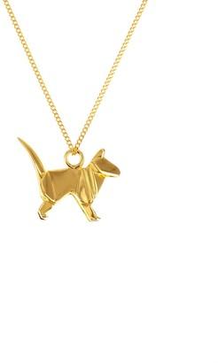 Origami Jewellery Mini Cat Gold