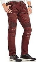 Rock Revival Jack Distressed Biker Jeans