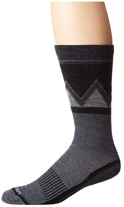 Wigwam Point Reyes Crew, Single (Black) Crew Cut Socks Shoes