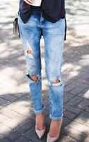 Ily Couture Distressed Boyfriend Jeans