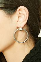 Forever 21 FOREVER 21+ O-Ring Hoop Earrings