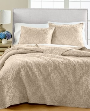 Martha Stewart Collection Gilded Age Reversible Twin/Twin Xl Quilt, Created for Macy's