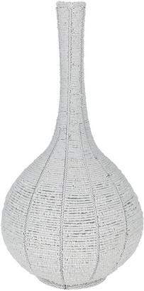 Source - White Calabash Vase - Large