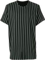 Haider Ackermann striped shortsleeved T-shirt