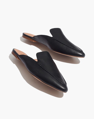 Madewell The Frances Skimmer Mule in Leather