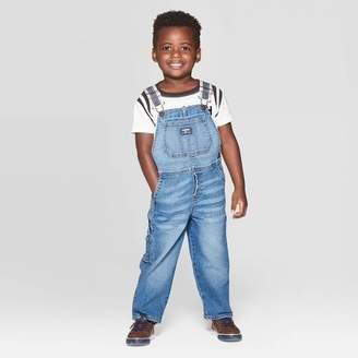 Osh Kosh Toddler Boys' Long Overall - Blue Denim