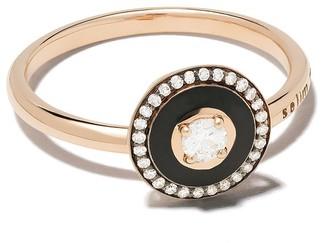 Selim Mouzannar 18kt rose gold diamond Mina ring