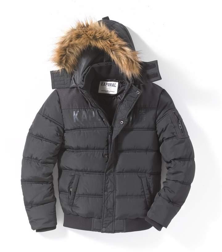 Kaporal 5 Hooded Padded Jacket 10-16 Years