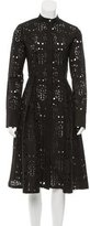 Suno Eyelet Pleated Dress w/ Tags