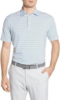 Peter Millar Sean Stripe Stretch Jersey Polo