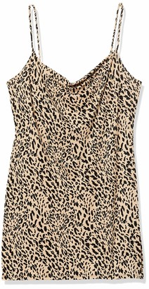 Forever 21 Women's Plus Size Leopard Print Cami Dress