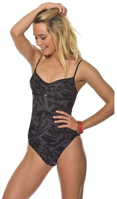 Bananamoon Banana Moon Graphic Print Swimsuit with Detachable Straps